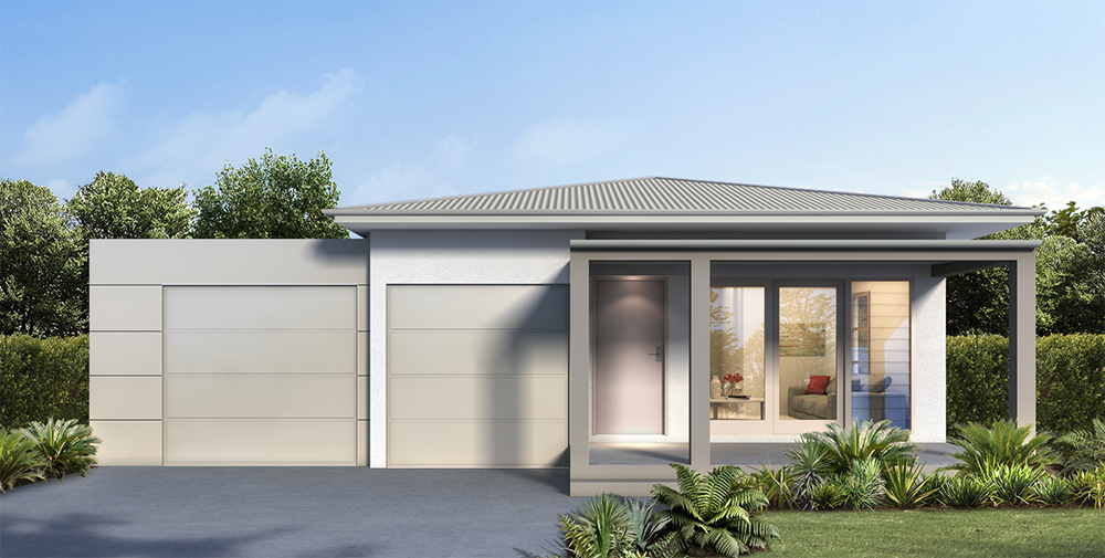 Griffith Hill Estate House Type A Render
