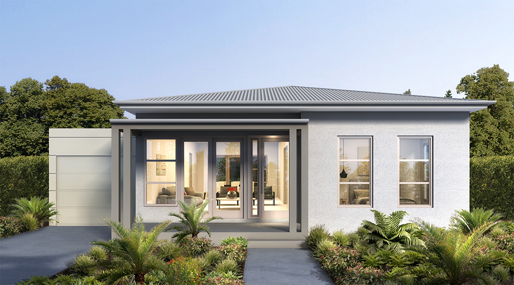 Griffith Hill Estate House Type C Render