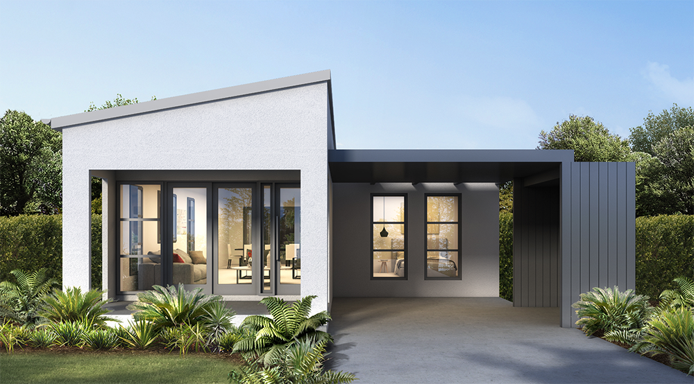Griffith Hill Estate House Type D Render