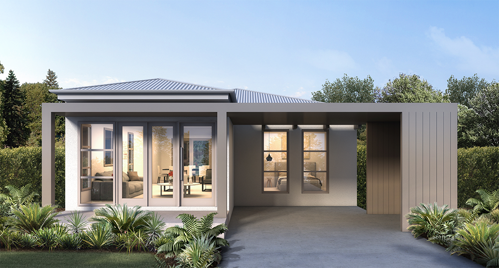 Griffith Hill Estate House Type F Render